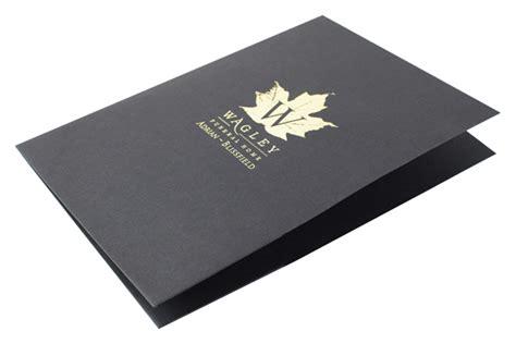 custom printed square corners  pocket  folder