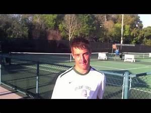 Men's Tennis vs. NKU - Chester Espie Interview - YouTube