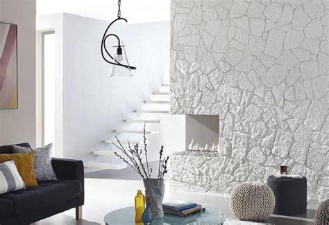 steinwand im wohnzimmer  inspirationen von klimex
