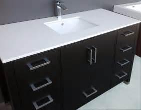 60 inch bathroom vanity single sink wooden home ideas