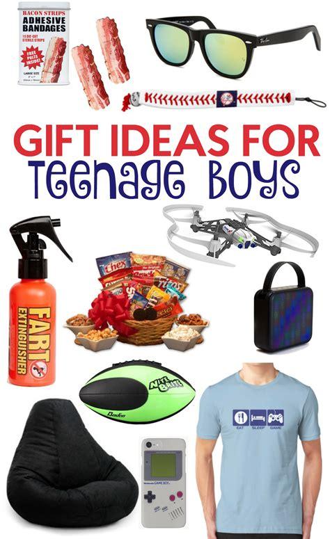 gift ideas for teenage boys