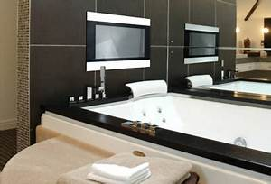 techvision infinity your bathroom tv tuvie With can you put a tv in the bathroom