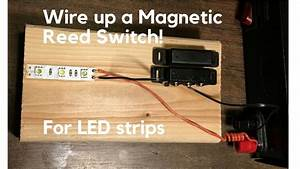 How To Wire Up Magnetic Switch In