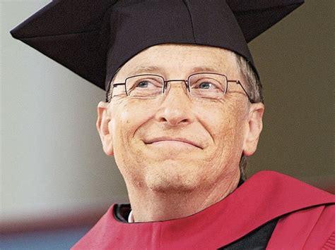 Bill Gates at Harvard | Harvard Magazine