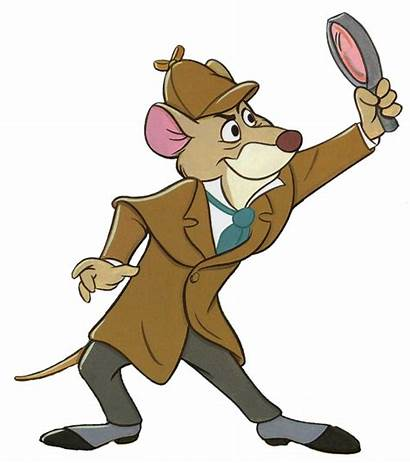 Detective Clipart Clip Mystery Investigator Woman Mouse