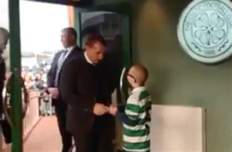 Watch Celtic superfan Jay Beatty surprise Hoops boss ...