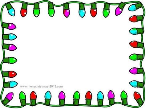 Christmas Border Clip Art Free Download
