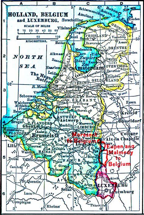 Holland, Belgium, And Luxemburg