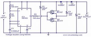 Electronic Communication Projects  Voltage Doubler Using 555