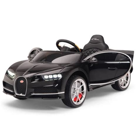 The all new bugatti chiron is the coolest new car on the market! Black Bugatti Chiron 12V Kids Ride On Car with Remote Control - KidCarShop