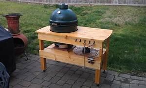 Large Green Egg Table diywoodtableplans