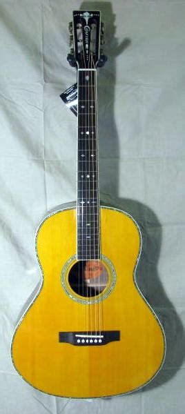 left handed crafter ta  parlor guitar