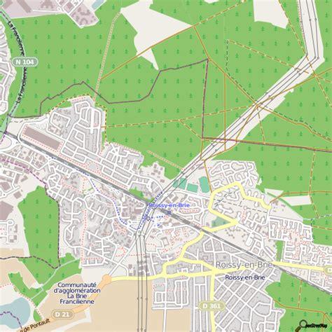 plan cuisine en ligne plan roissy en brie carte ville roissy en brie