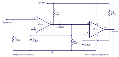 Simple Peak Detector Circuit Using Uses Minimum