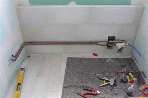 arrivee d eau salle de bain plomberie chauffage faire construire avec les maisons bernard lannoy