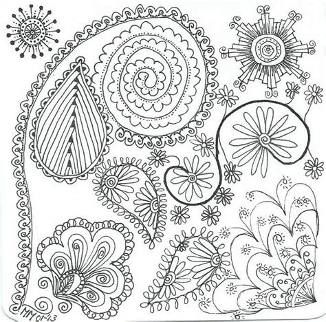zendoodle coloring pages items similar  zentangle coloring page zen doodle radiokothacom