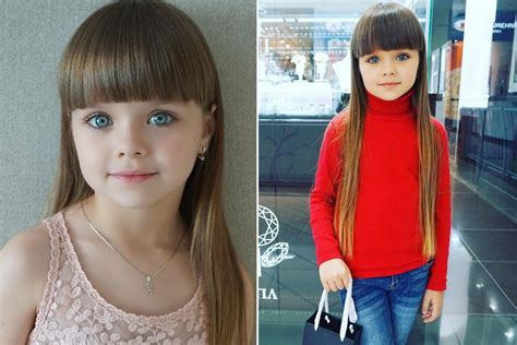 6 Year Old Dubbed 'most Beautiful Girl In The World'