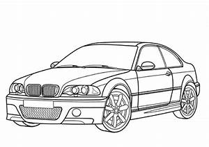 coloriage bmw m3 coupe coloriages a imprimer gratuits With bmw e38 7 series