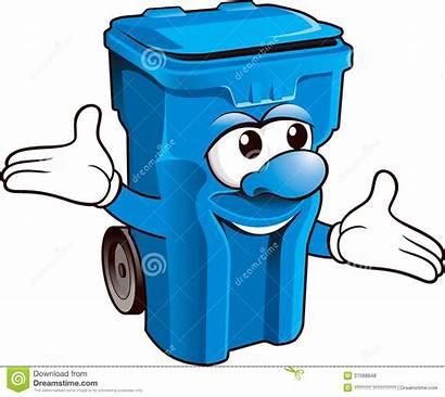 Poubelle Bin Wheelie Funny Clipart Garbage Waste
