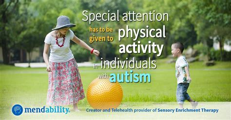 children  autism benefit  physical exercise