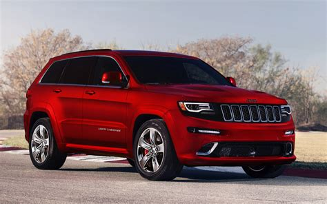 jeep grand cherokee srt red 2014 jeep grand cherokee srt red color photo picture image