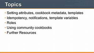 chef fundamentals training series module 1 overview of chef With chef template variables