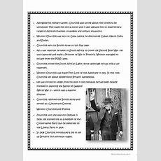 Winston Churchill Worksheet  Free Esl Printable Worksheets Made By Teachers