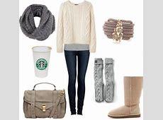 23 Cute Winter Outfits For CollegeHigh School Girls