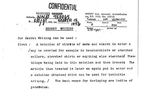 cia releases declassified documents    world