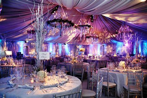 Romantic Purple Theme Wedding