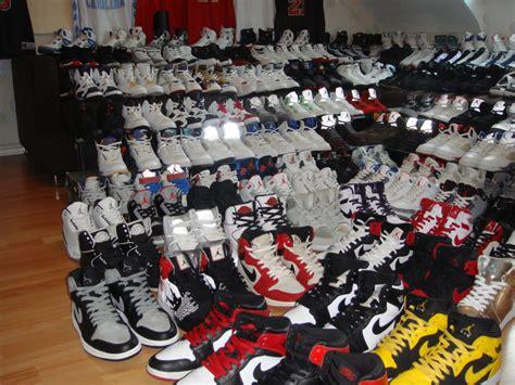 celebrity  massive jordans collection