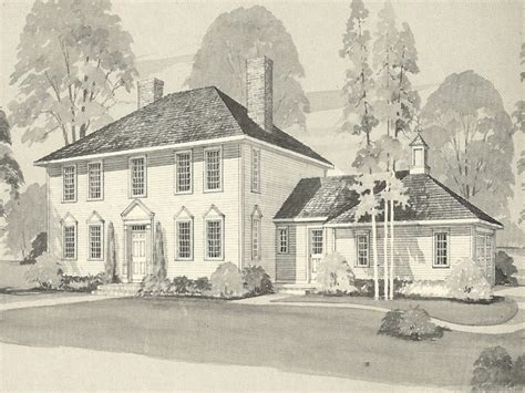 colonial house exterior makeover  colonial home house plans vintage house plans