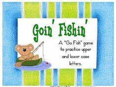 learning activities for pre k toddlers on pinterest With letter go fish