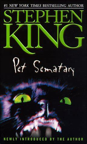 Pet Sematary  Stephen King  Dogeared & Dogtagged