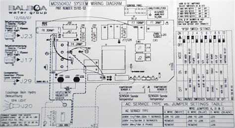 balboa spa wiring diagrams 26 wiring diagram images