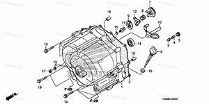 Honda Atv 2007 Oem Parts Diagram For Front Crankcase Cover