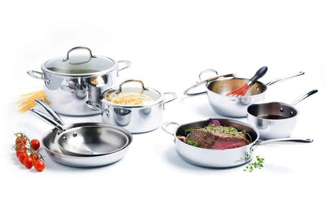 cookware stainless steel sets oxo grips ply tri versatile