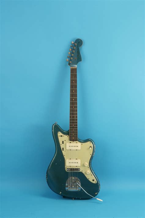 fender jazzmaster  lake placid blue guitar  sale