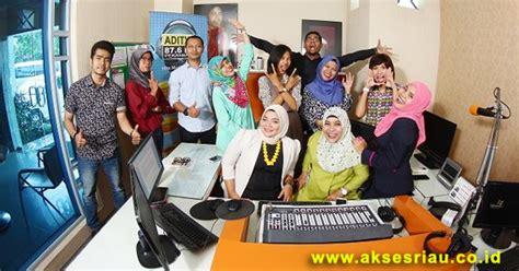 lowongan radio aditya  fm pekanbaru maret