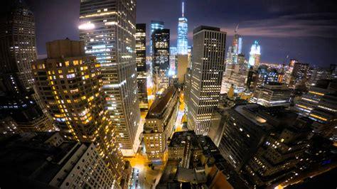 New York City Fidi Night Time Lapse Youtube