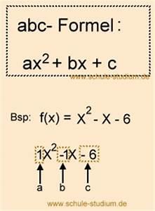 Nullstelle Berechnen Quadratische Funktion : abc formel mitternachtsformel vs pq formel aufgaben mit musterl sungen ~ Themetempest.com Abrechnung