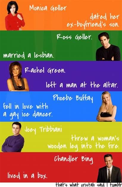 Friends Cast Quotes Moments Leg Episodes Ift