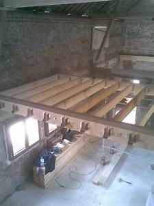 Plancher Bois Etage : rnovation d 39 une grange par entreprise de maonnerie et ~ Premium-room.com Idées de Décoration