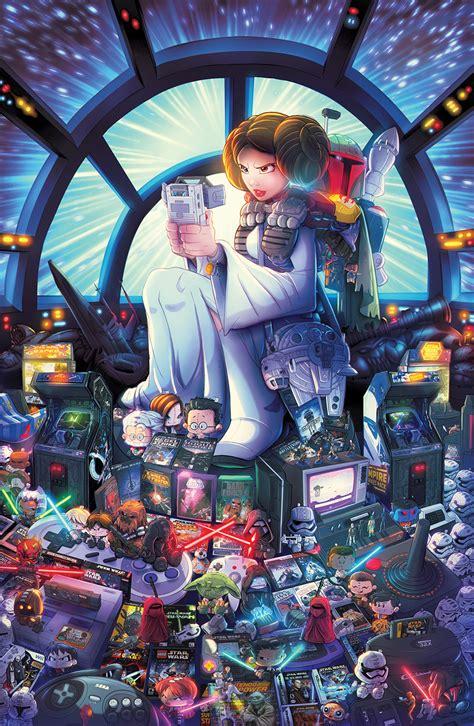 star wars gaming tribute  robduenas  deviantart