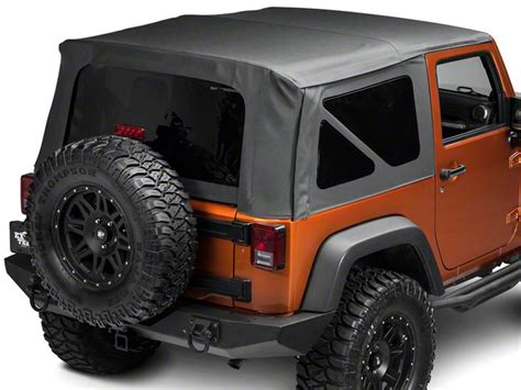 jeep wrangler 2 door soft top how to install a barricade replacement soft top on your