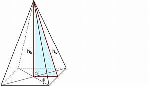 Quadratische Pyramide A Berechnen : untersuchen der eigenschaften einer pyramide ~ Themetempest.com Abrechnung