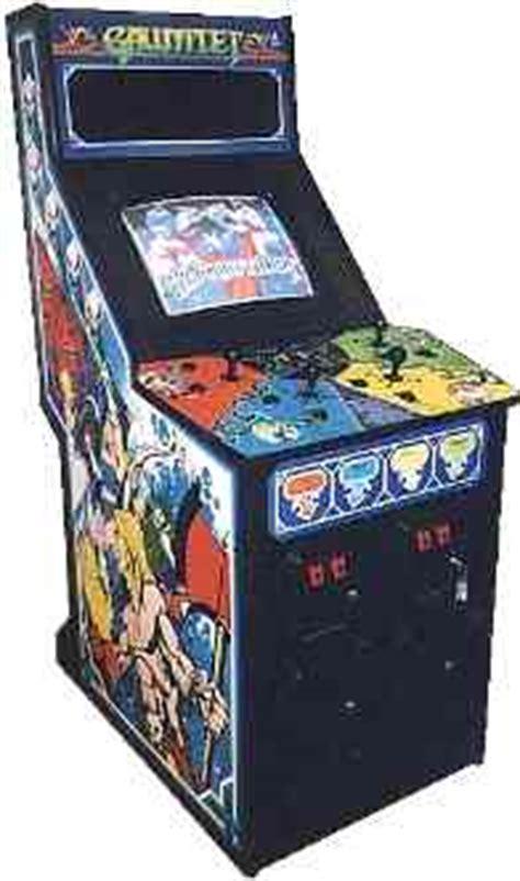 Gauntlet Legends Arcade Cabinet by Gauntlet Videogame By Atari