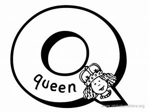 letter q clipart black and white clipartxtras With black and white letter art