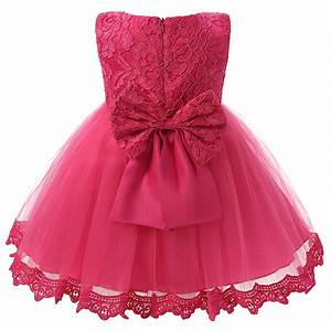 Vintage Lace Baby Girl Dress For Wedding Party 1 Year ...