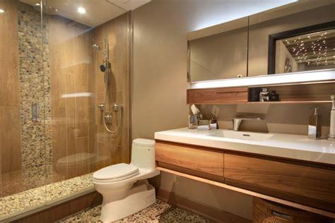 21+ River Rock Bathroom Designs, Decorating Ideas Design